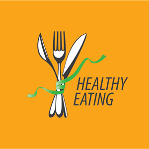 Healthy eating Logo Vector