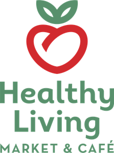 Healthy Living Market Logo Vector