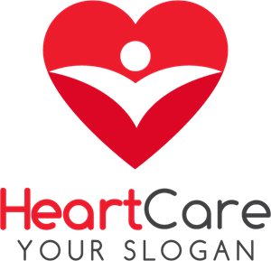 Heart care Logo Vector