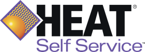 HEAT Self Service Logo Vector