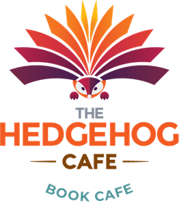 Hedgehog Cafe Logo Vector
