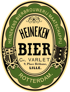Heineken label Logo Vector