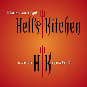 Hell's Kitchen Logo Vector
