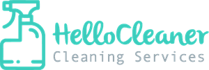 Hello Cleaner Logo Vector