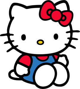 hello kitty Logo Vector