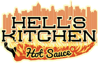 Hell's Kitchen Hot Sauce Logo Vector