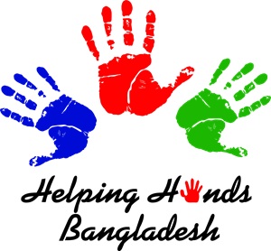 Helping Hands Bangladesh Logo Vector