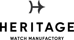 Heritage Watch Manufactory Logo Vector