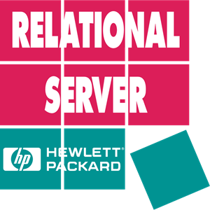 Hewlett Packard Relational Server Logo Vector