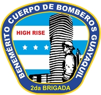 High Ride 2da brigada Edificios Altos Logo Vector
