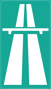 HIGHWAY ROAD SIGN Logo Vector