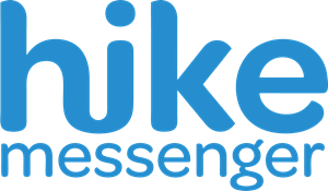 Hike Messenger Logo Vector