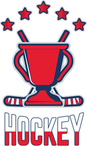 Hockey Cup Logo Vector