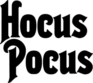 Hocus Pocus Logo Vector (.AI) Free Download