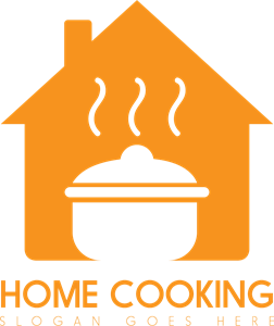 Home Cooking Logo Vector
