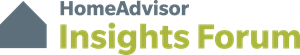HomeAdvisor Insights Forum Logo Vector