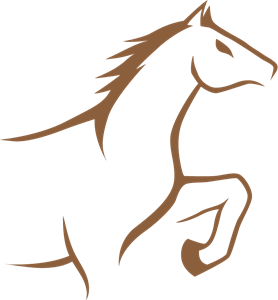horse shoe Logo Vector