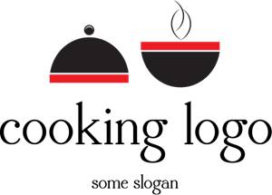 Hot Bowl Cooking Logo Vector