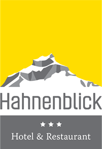 Hotel and Restaurant Hahnenblick Logo Vector