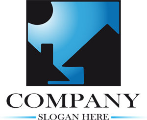 House Company Shape Logo Vector