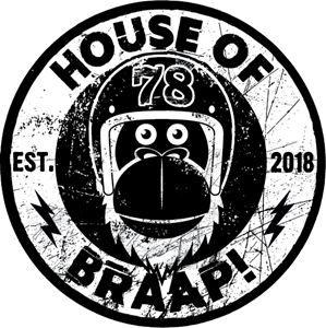 House of Braap Cycleshop Logo Vector