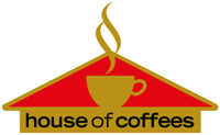 House Of Coffees Logo Vector