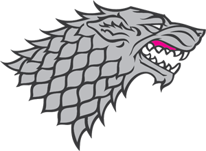 House Stark Logo Vector