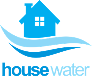 House water supply company Logo Vector
