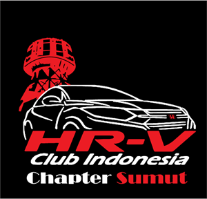 HRV Club Chapter Sumut Logo Vector