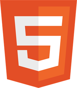 HTML5 without wordmark color Logo Vector