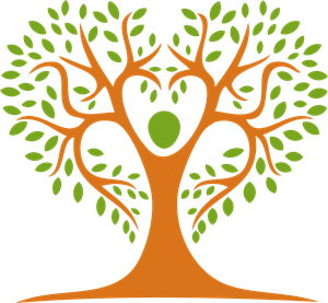 Human Tree Logo Vector