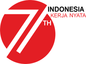 HUT RI ke-71 Logo Vector