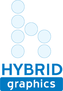 Hybrid Graphics Logo Vector
