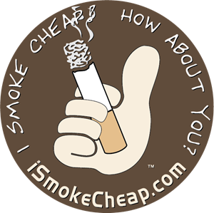 I Smoke Cheap Logo Vector