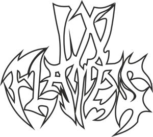 In Flames Logo Vector