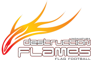 Indaiatuba Destruction Flames Logo Vector