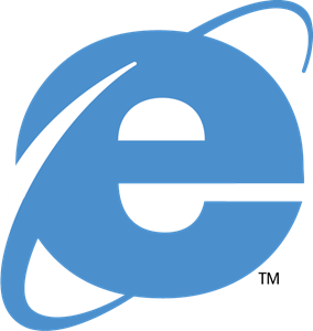 Internet Explorer 4 Logo Vector