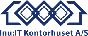 Inu:IT Kontorhuset A/S Logo Vector