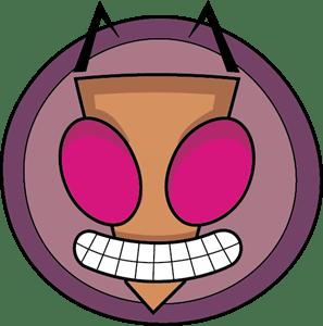 Invader Zim Logo Vector