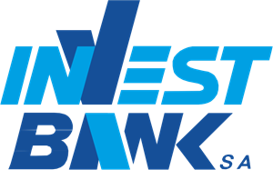 Invest Bank Logo Vector