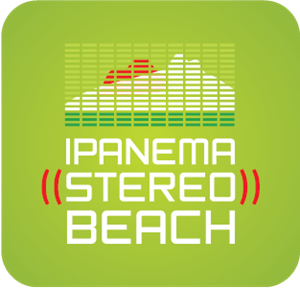 Ipanema Stereo Beach Logo Vector