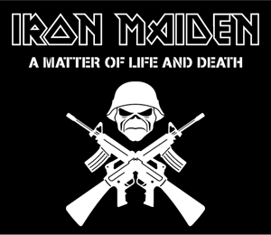 Iron Maiden Army Logo Vector