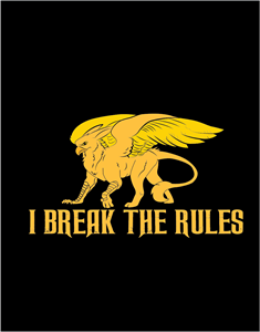 i break the rules Logo Vector