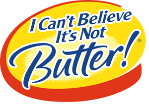 I Can't Believe It's Not Butter! Logo Vector