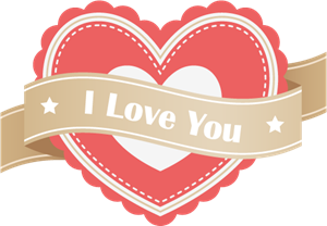 I Love You (Valentine's Day) Logo Vector