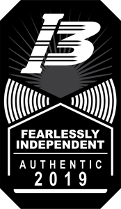 I3 Fearlessly independent authentic 2019 Logo Vector