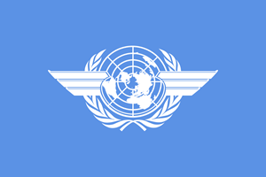 ICAO Flag Logo Vector