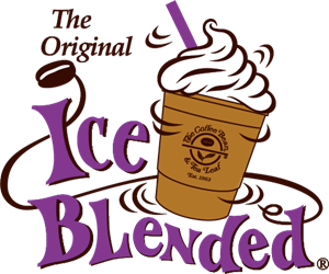 Ice Blended® Drink Logo Vector