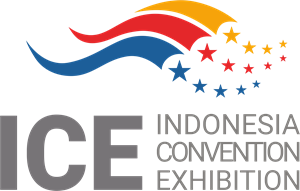 ICE Indonesia Convention Exhibition Logo Vector