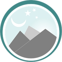Ice Mountain Logo Vector